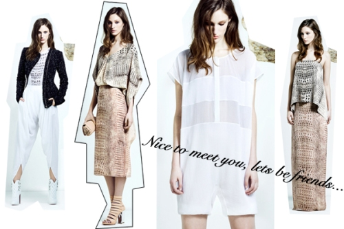 Resort 2013 collection